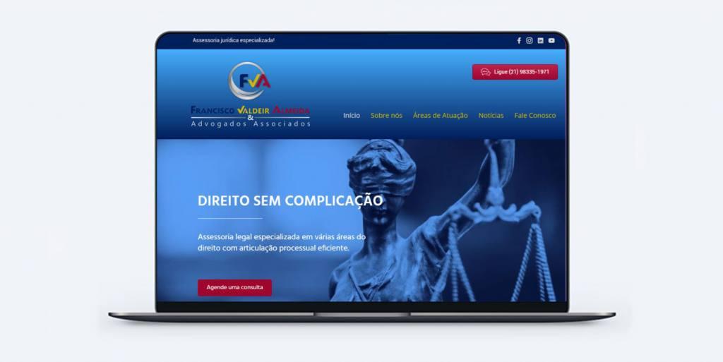 Zeta assina a criação de site de advocacia