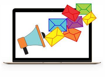 Disparos de E-mail Marketing