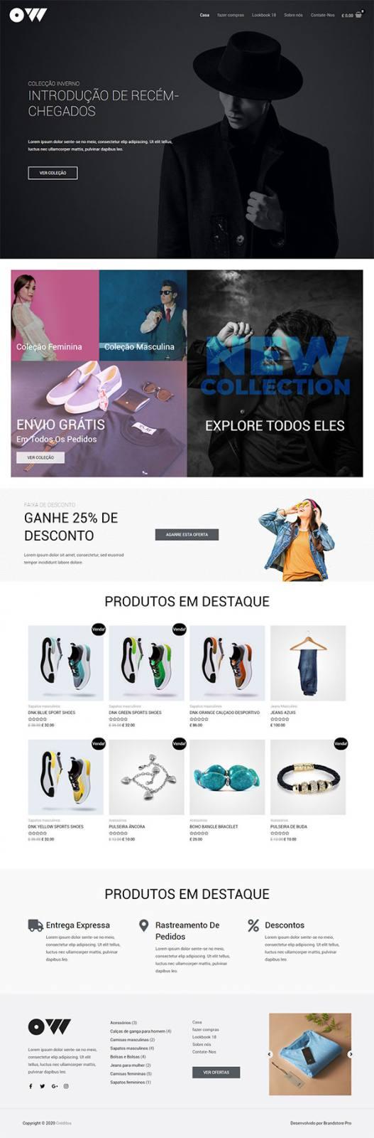 Criação de Loja Virtual Express 12