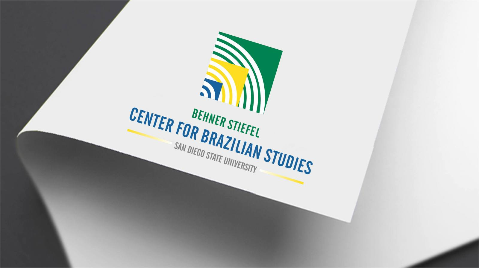 Marca internacional do Center for Brazilian Studies
